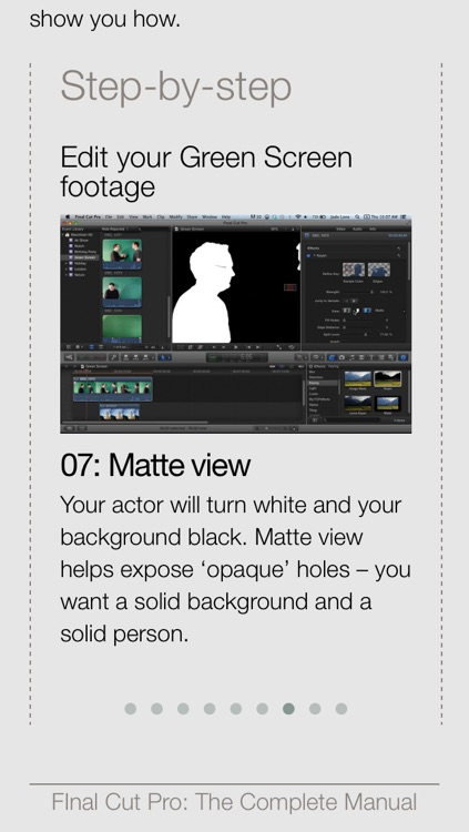 Complete Manual: Final Cut Pro Edition screenshot-3