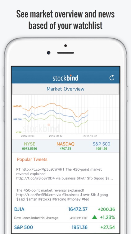 StockBind - Virtual Stock Trading Game screenshot-3