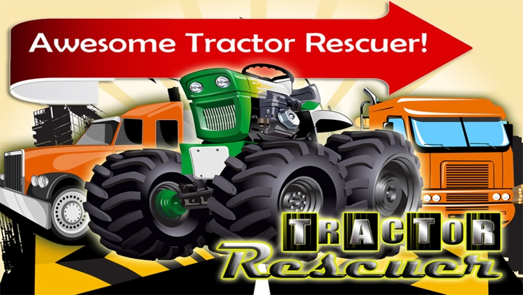 Tractor Rescuer - Awesome Game to Rescue the Trucker