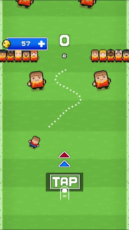 Big football superstar (Impossible Challenge Blocky Racing Pixel Soccer Games) screenshot-3