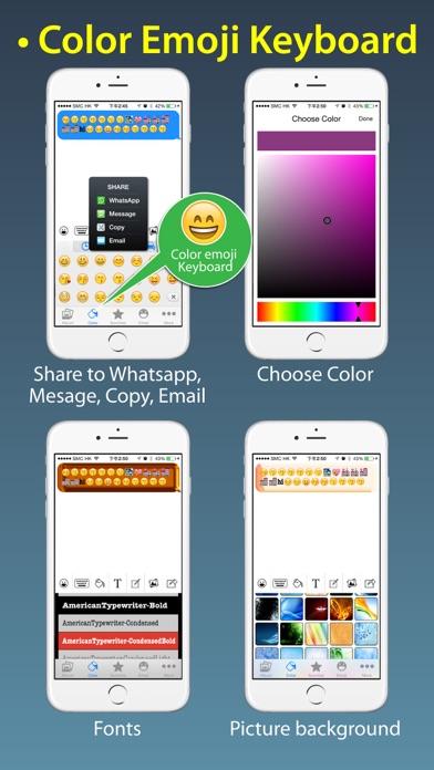 Stickers Pro for iOS8 +Emoji Keyboard & Emoji Artのおすすめ画像3