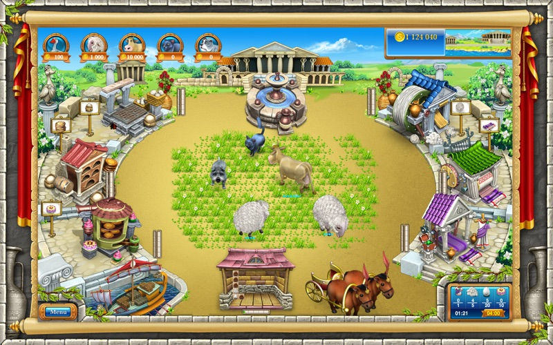 Farm Frenzy 3: Ancient Rome (Full) | App Price Drops