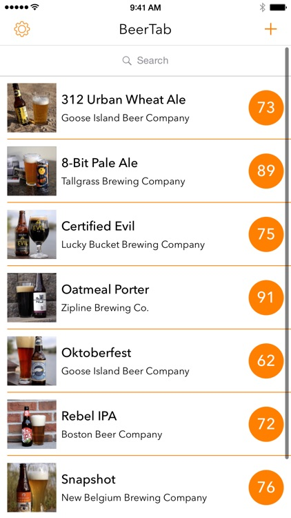 BeerTab - Rate and Share Your Favorite Beers screenshot-1