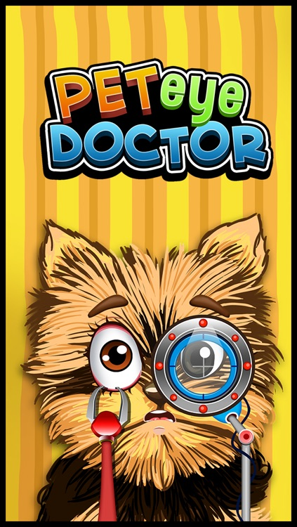 Crazy Pet's Eye Vet - Virtual Pet Eye Care Doctor's Office Games for Kids screenshot-3