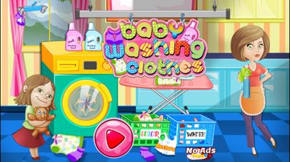 New Born Baby Washing Cloths screenshot one