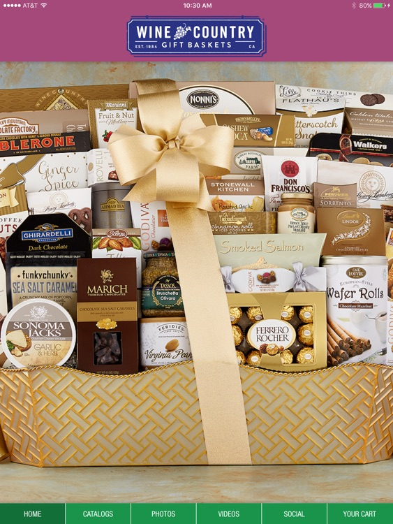 Wine Country Gift Baskets iCatalog