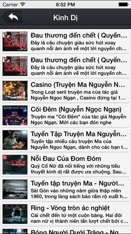 Truyện Audio-Nghe Đọc Truyện screenshot-3