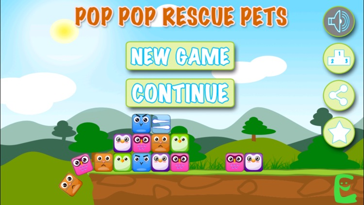 Pop Pop Rescue Pets - The world's most cute casual puzzle match - 2 game!