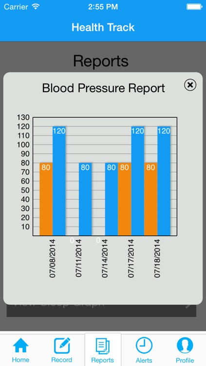 HealthTrack - Mobile Patient Monitoring and Reporting System screenshot-4