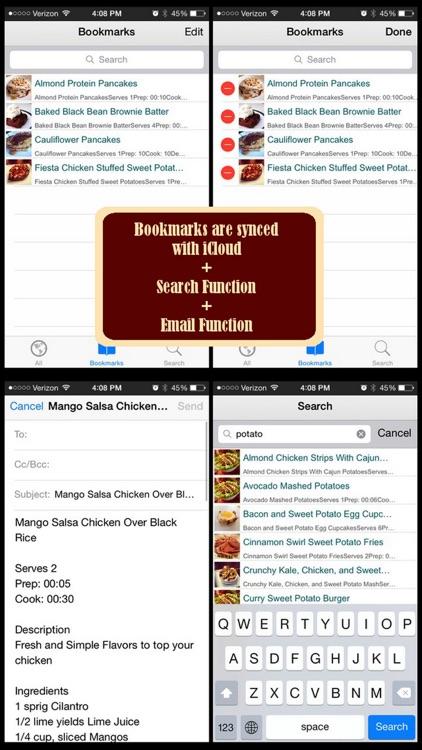 800 Bodybuilding Recipes screenshot-3