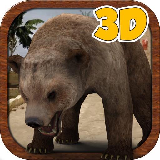 3D Медведь Simulator - Crazy дикий Городской охотник игра-симулятор