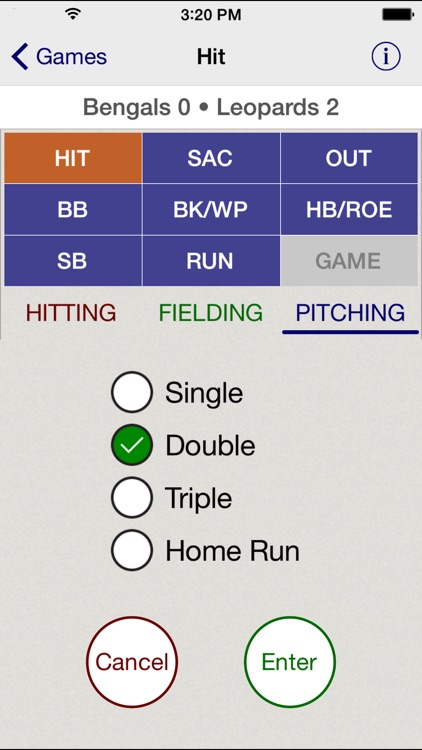 Stat Tap Baseball screenshot-2