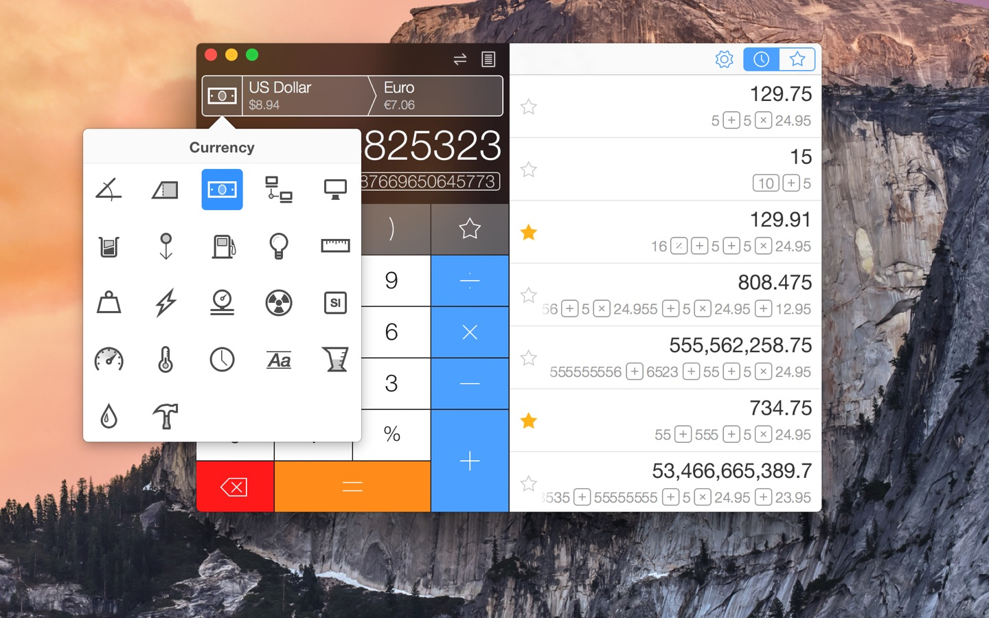Screenshot do app Calcbot - The Smart Calculator