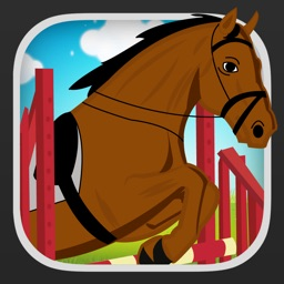 Cartoon Farm Horse Show FREE - The Jumpy Pony Champion Jumping Game