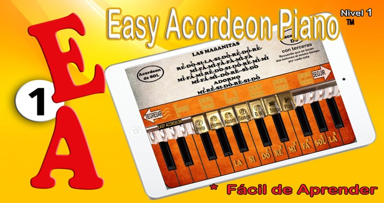 Easy Acordeon Piano 1