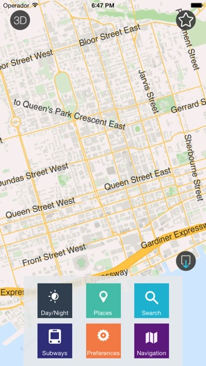 Toronto Offline Map City Guide W Metro On The App Store
