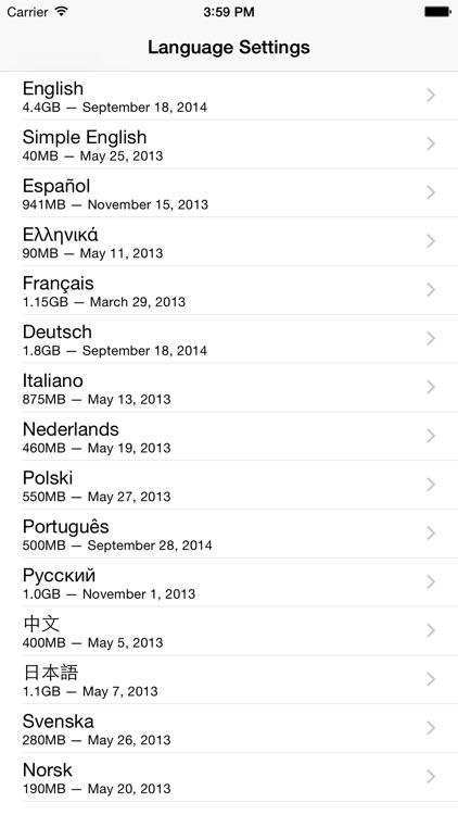 Wiki Offline 2 — Take Wikipedia With You screenshot-4