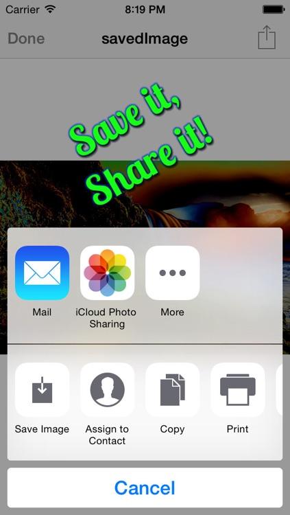 PhotoGram Studio Elite Selfie Editor HD Free screenshot-4