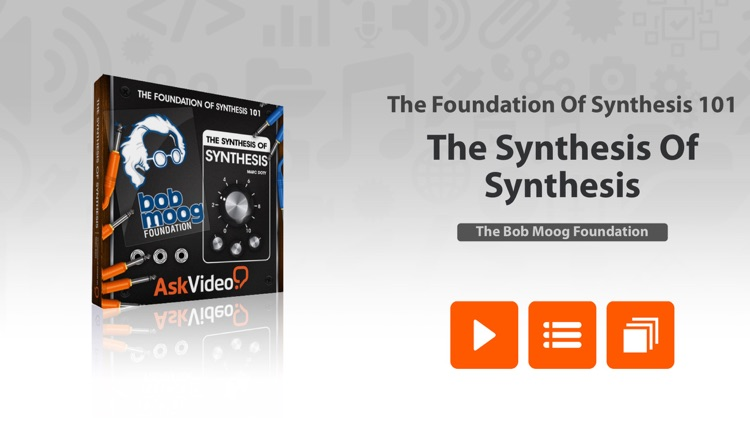 The Synthesis Of Synthesis - Foundation Of Synthesis