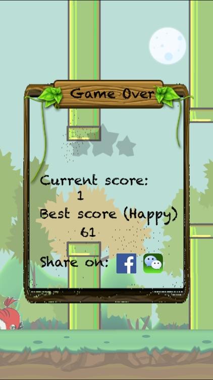 Flappy Happy Bird screenshot-3