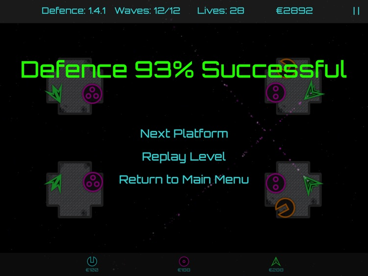 Orbital Platform Defense screenshot-3