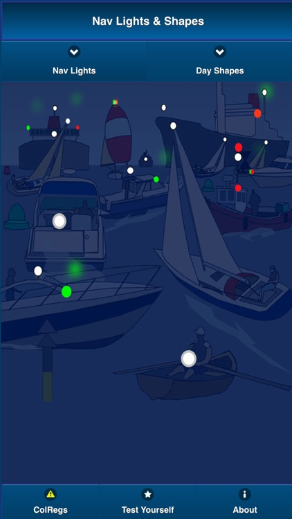 ColRegs: Nav Lights & Shapes for Boating and Sailing screenshot-1