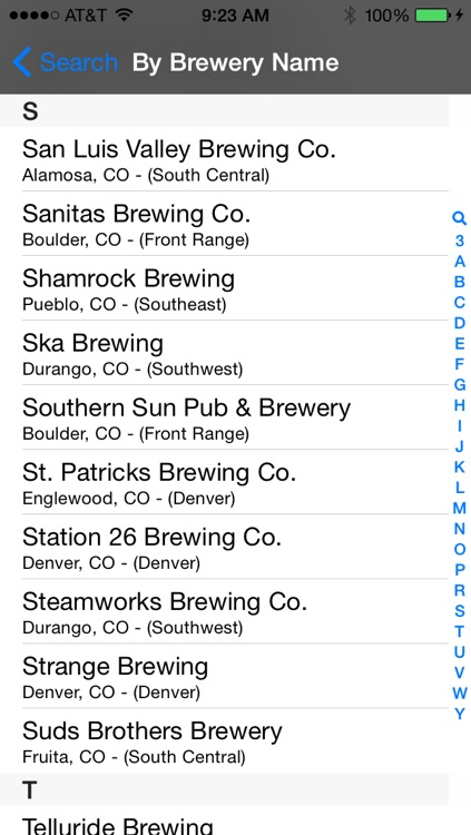 Colorado Brewery Finder screenshot-2