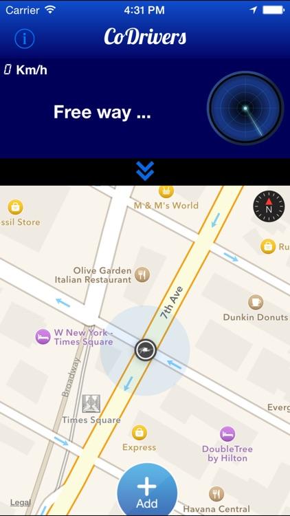 CoDrivers - GPS Driving Assistant