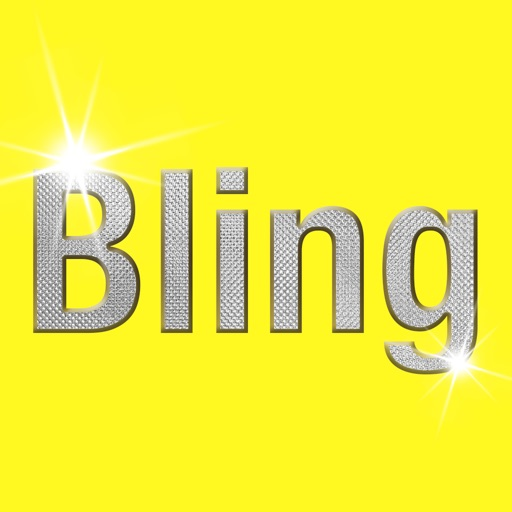 Bling Keyboard - Send Text in Bling Bling Animated Gif, Glitter Text Generator, Sparkle Text Maker icon