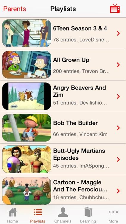 NickViewer - Kids TV Viewer screenshot-3