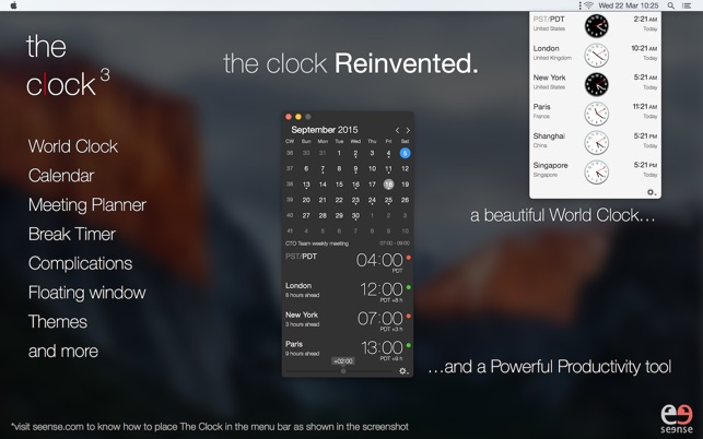 The clock the best world clock on the mac app store screenshots gumiabroncs Images