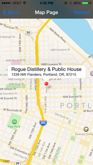 Breweries In Portland Oregon Map.Oregon Brewery Finder On The App Store