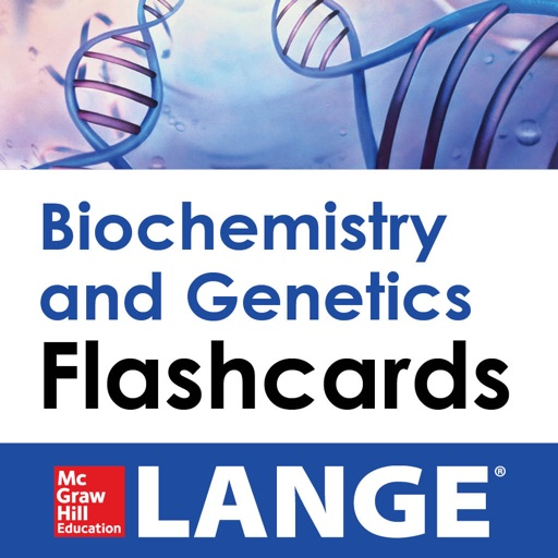 Biochemistry and Genetics Lange Flash Cards