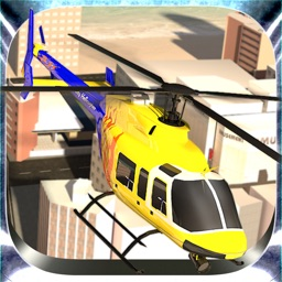 City Helicopter Flying Simulator – Fly Air Copter Over the Urban Land