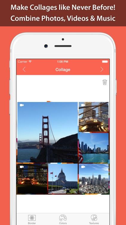 Photo & Video Collage Maker for Instagram, Vine & Facebook