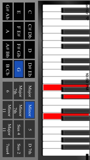 Piano Chord Chart On The App Store