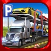 Car Transport Truck Parking Simulator - Real Show-Room Driving Test Sim Racing Games