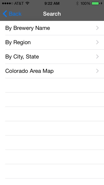 Colorado Brewery Finder screenshot-1