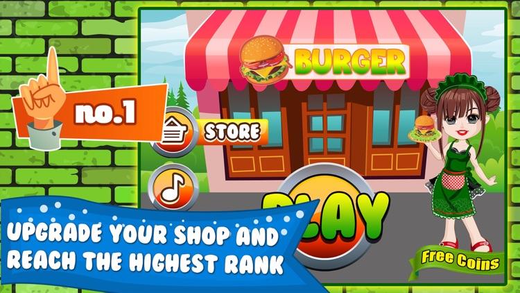Burger Cooking Restaurant Maker Jam - the mama king food shop in a jolly diner story dash game! screenshot-3