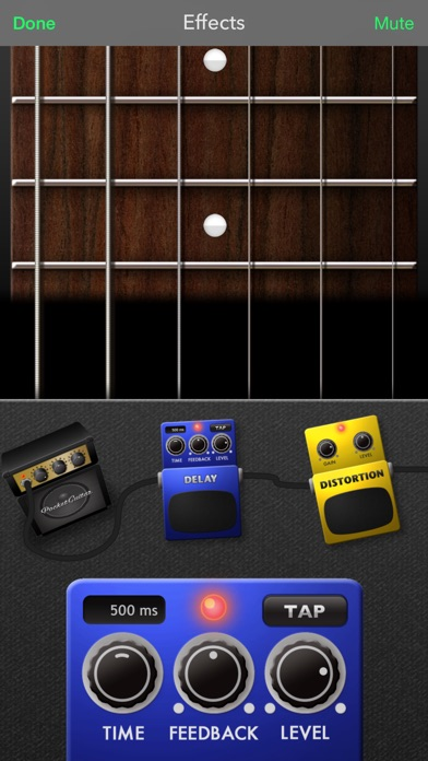 PocketGuitar - Virtual Guitar in Your Pocket screenshot three