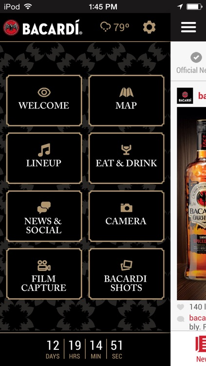 The Official Bacardi Triangle Event App screenshot-0