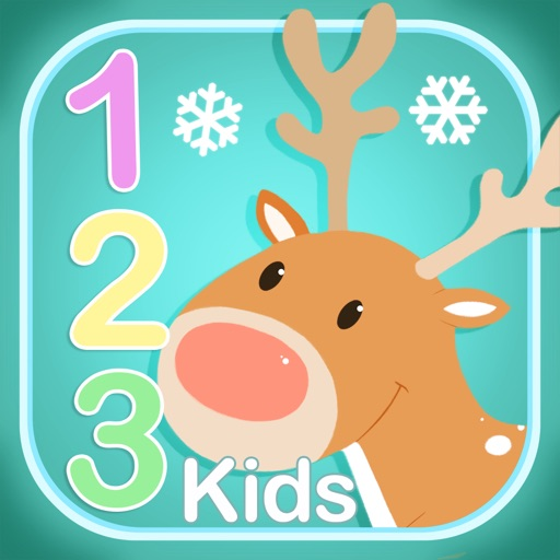 123: Christmas Games For Kids - Learn to Count iOS App