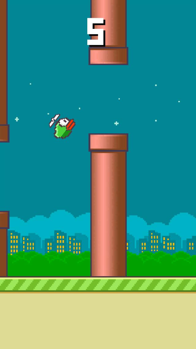 Swing Bird - Fly Like a Helicopter screenshot three
