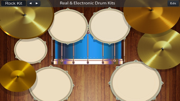 Real and Electronic Drum Kits