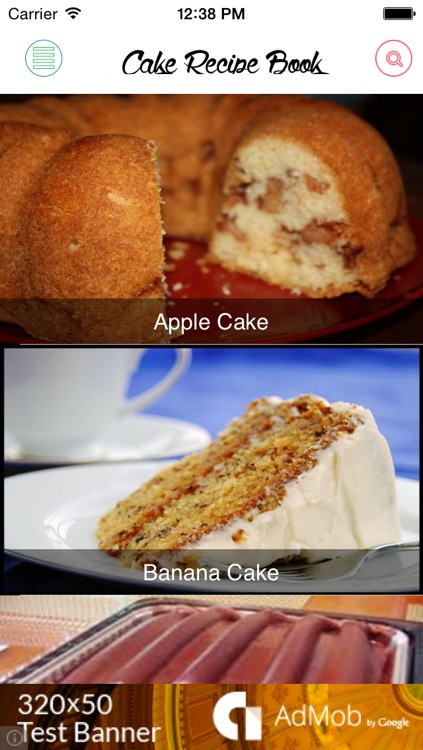 Cake Recipe Book screenshot-0