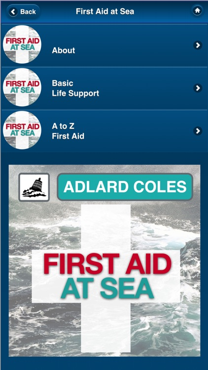 First Aid at Sea - Adlard Coles screenshot-3