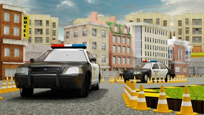 Real Cop Car Parking Simulator – City Police Truck SUV Driving Test Run 3D Game 1