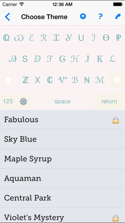 Sprezz - Custom Keyboard Themes and Fonts screenshot-4