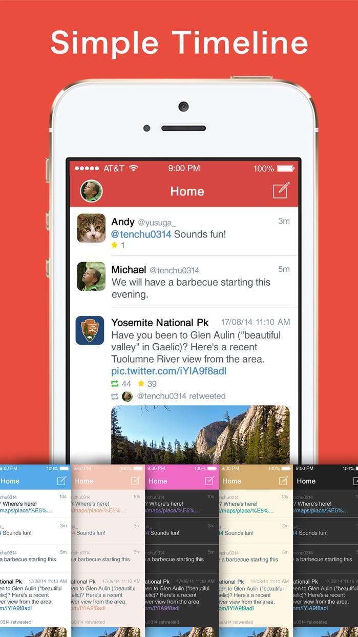 Aplos for Twitter Screenshot