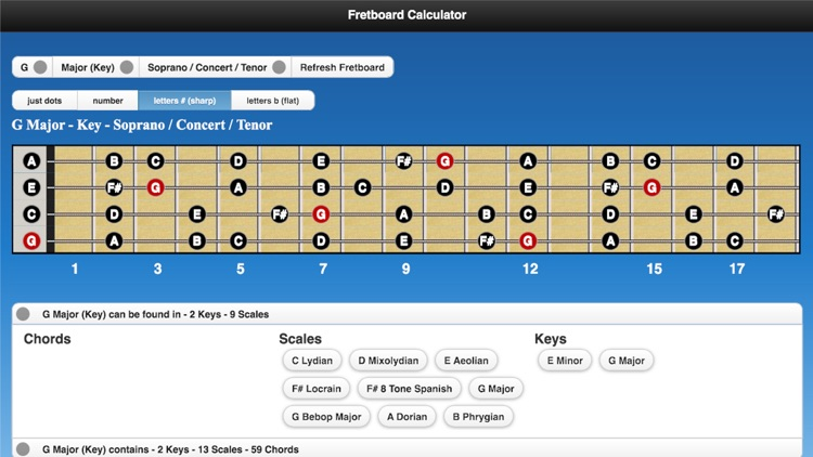 Fretboard Calculator screenshot-3
